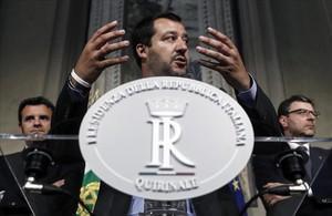 El ministro de Interior italiano, Matteo Salvini.