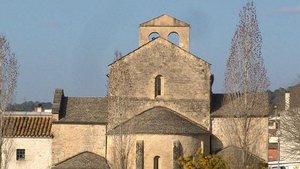 El monasterio de Cervià de Ter.