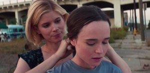 Kate Mara (izquierda) y Ellen Page en una escena de'My days of mercy'.