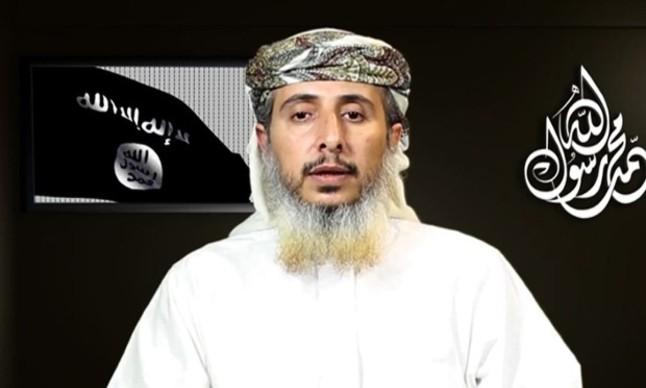 Nasser bin Ali al-Ansi, el veterano de Al-Qaeda, responsabilizando al grupo terrorista de los ataques a Charlie Hebdo.