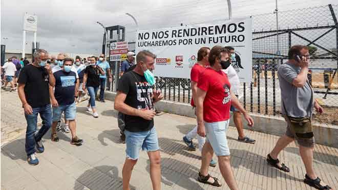 Nissan registra formalment un ero per tancar les seves plantes a Catalunya