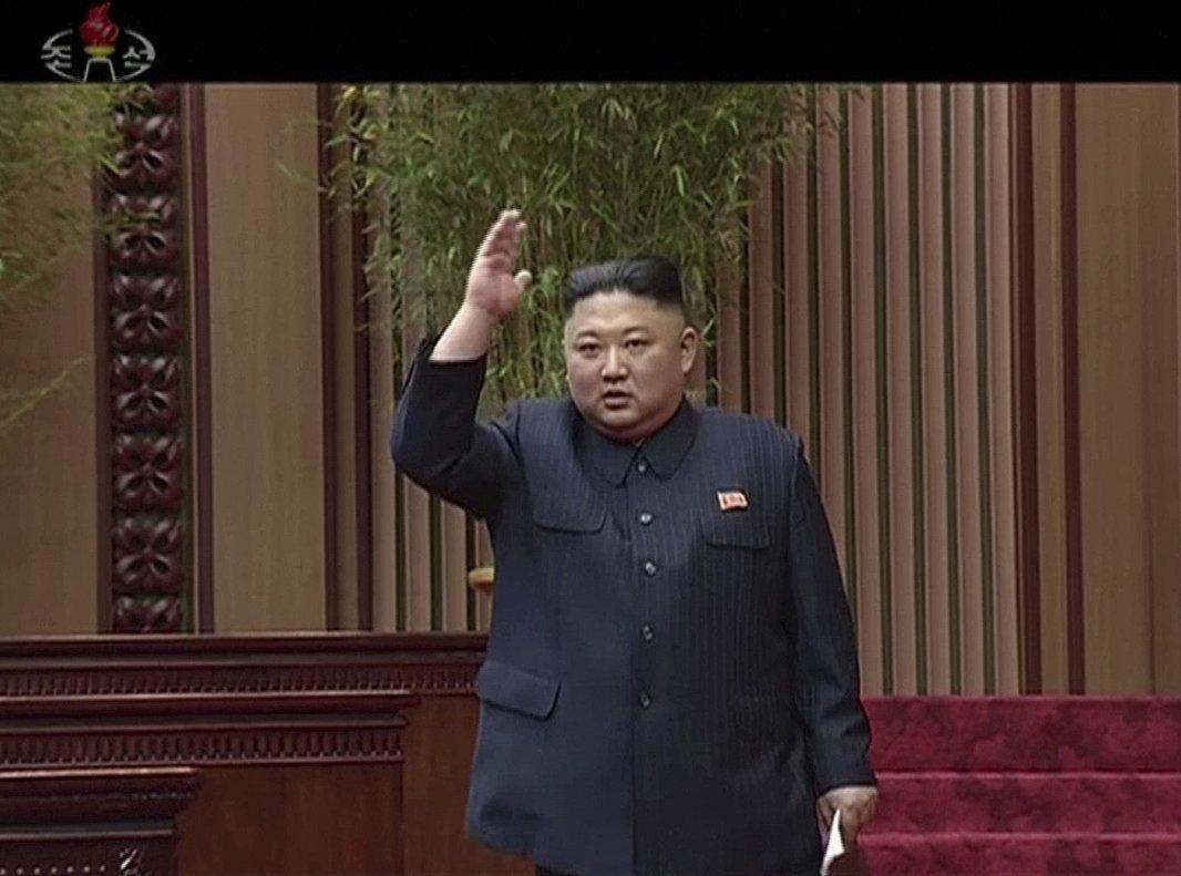 Kim Jong-un , líder de Corea del Norte. AP