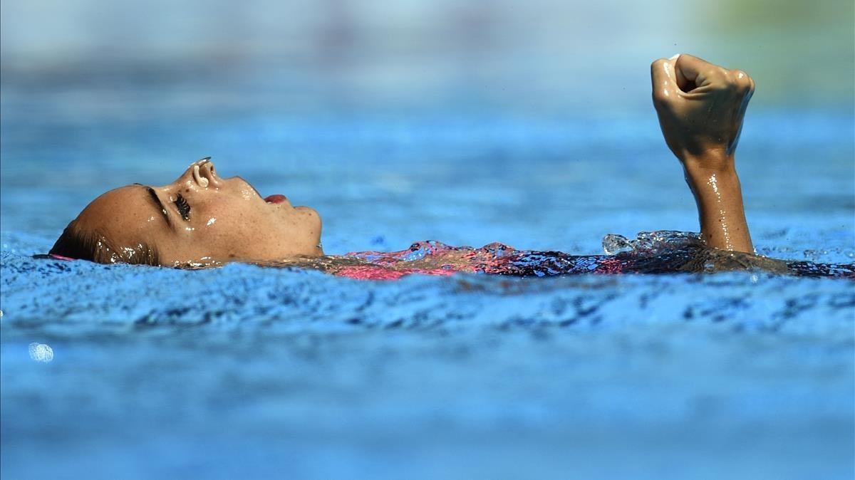 Carbonell iguala las 20 medallas de Mengual con otra plata