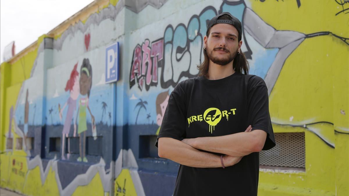 Pablo Álvarez: «El grafiti permite compartir el dolor con los demás»