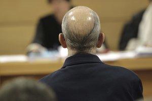 El exinspector Juan Antonio González Pacheco, Billy el Niño (en la imagen), en una vista en la Audiencia Nacional celebrada en el 2014 a raíz de la petición deextradiciónreclamadapor Argentina por torturas en el franquismo.