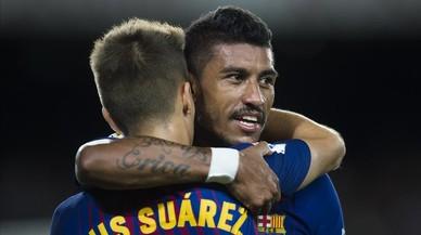 Paulinho, dos remates y dos goles