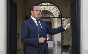 Pedro Antonio Sánchez, presidente de Murcia.