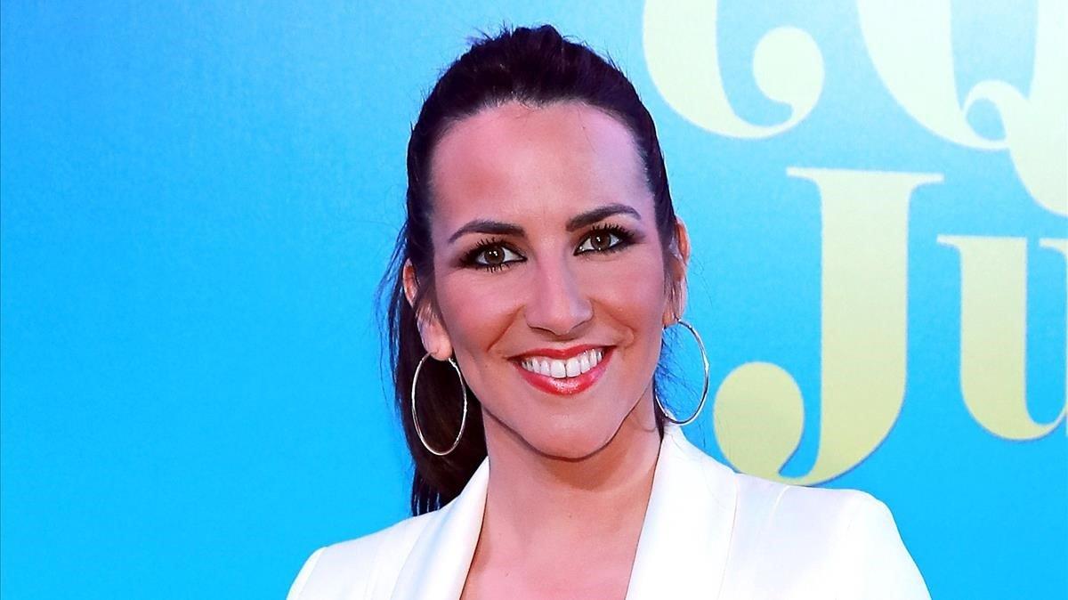 La periodista deportiva y presentadora Irene Junquera.