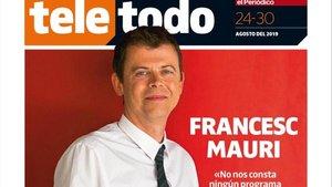 Portada del suplemento de 'El Periódico'protagonizada por Francesc Mauri.