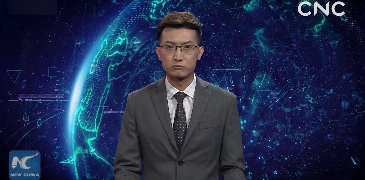 El presentador de inteligencia artificial que ha 'fichado' la televisión china.
