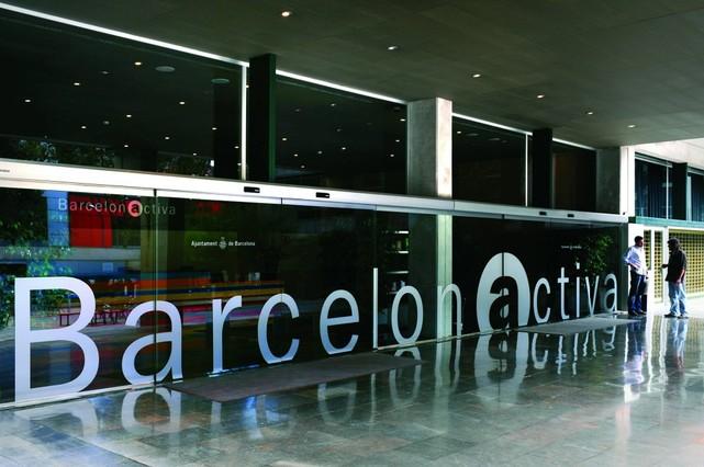 Instalaciones de Barcelona Activa.
