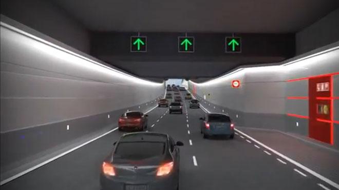 Proyecto de los túneles de la plaza de las Glòries.