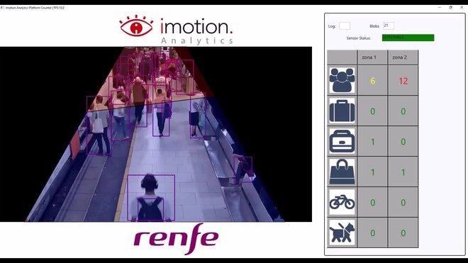 Renfe pone en marcha un proyecto piloto cara controlar el aforo en las estaciones, en tiempo real.