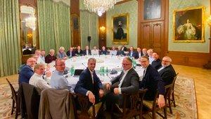 Reunión del Consejo de Gobierno del BCE.
