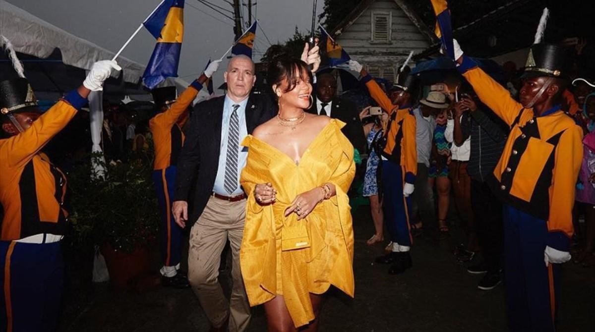 Rihanna ya tiene una calle en su tierra natal, Barbados.