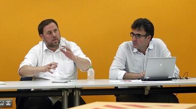 Junqueras y Salvadó darán explicaciones en el Parlament sobre el 'caso Vidal'