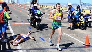 Vergonyosa actuació del públic a la Marató de la Commonwealth