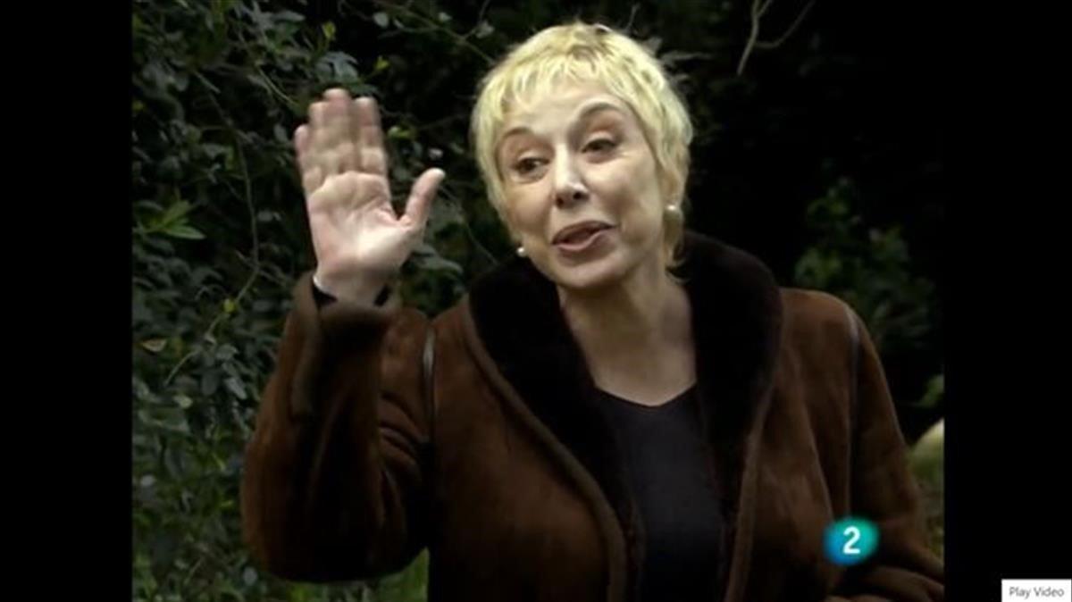 La Sardà en 'Abuela de verano' (TVE-1).