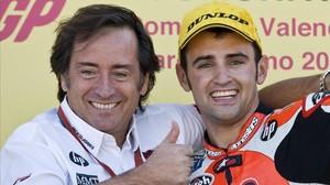 Sito Pons y Héctor Barberá, en su primera época, en el 2009.