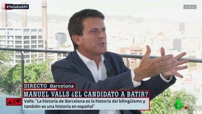 Manuel Valls en Al rojo vivo (La Sexta).