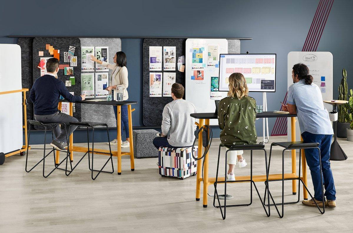Los espacios de trabajo pueden influir en la creatividad de las personas.