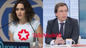 Isabel Díaz Ayuso y José Luis Martínez Almeida serán entrevistados por primera vez en Telemadrid