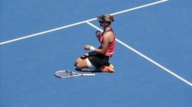 Lucic-Baroni completa su sueño y llega a semifinales del Open de Australia