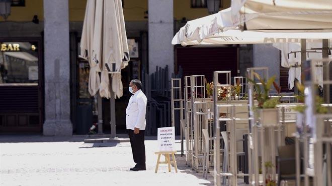 Els restaurants de Madrid preveuen facturar més per l'estat d'alarma