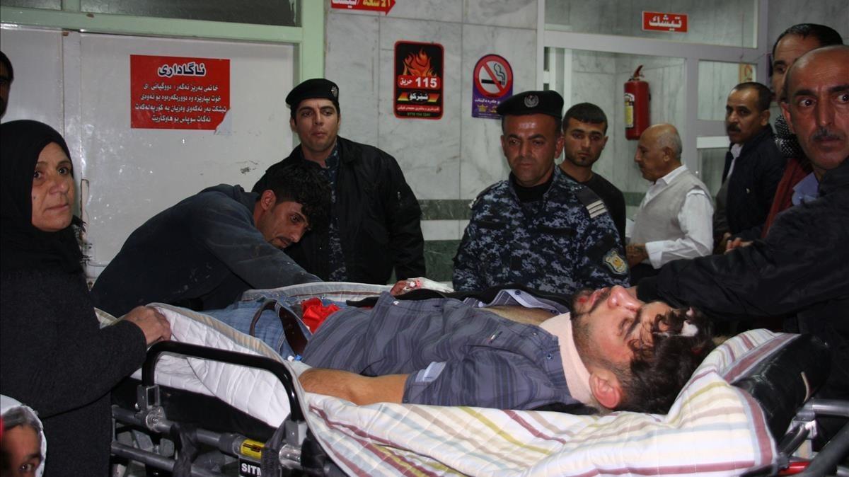 Un terremoto de magnitud 7,3 sacude la frontera entre Irak e Irán y deja más de 200 muertos.