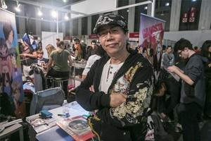 Toshio Maeda, en el Salón del Manga.