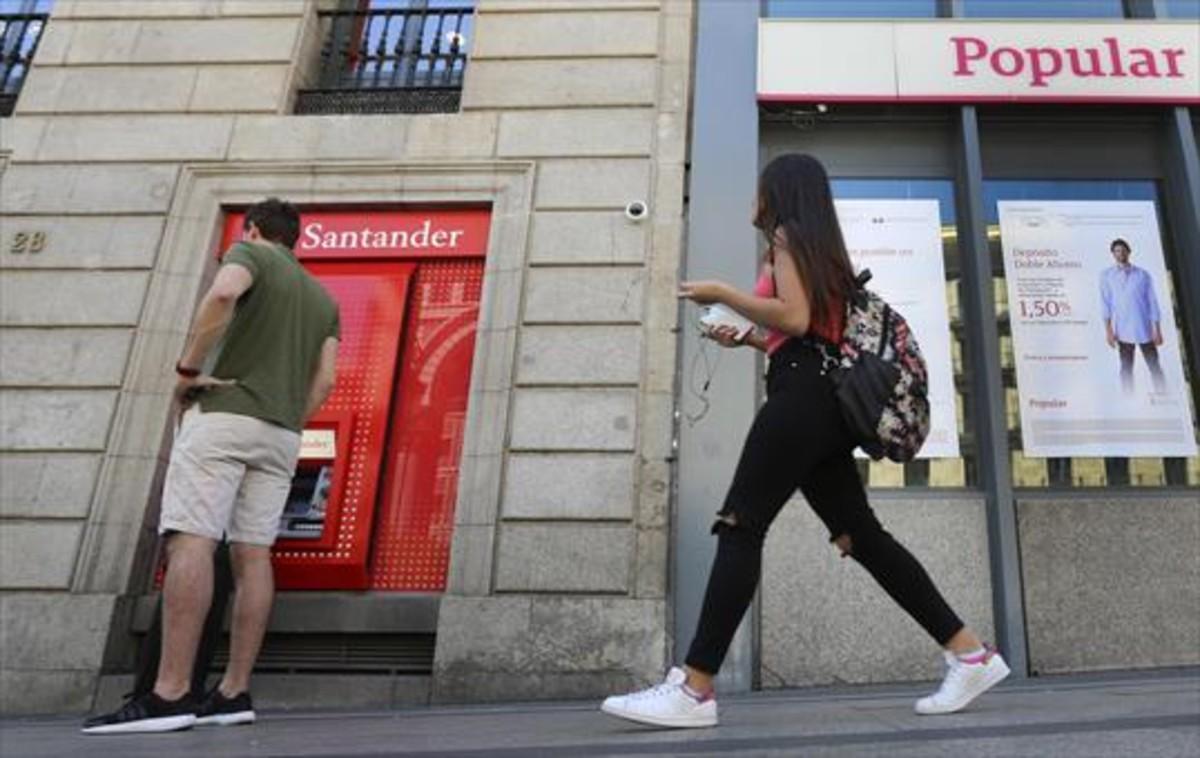 Bruselas sigue sin ver preocupante la concentraci n for Oficina santander madrid