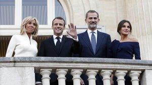Macron convida els Reis a homenatjar a París les víctimes del terrorisme