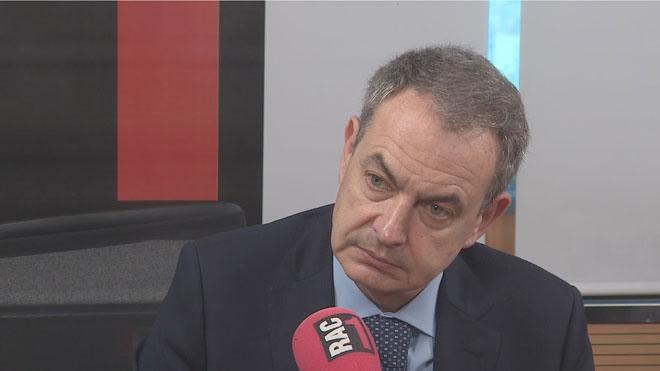 """Zapatero demana una sentència que """"no comprometi el diàleg"""" i revela que va parlar amb Junqueras"""