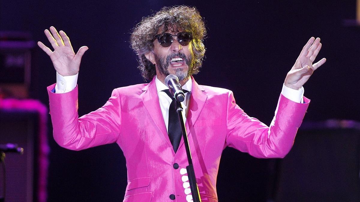 El músic argentino Fito Paez abrirá el Guitar BCN.