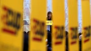 """La CUP es planteja les municipals com una """"revàlida de la unilateralitat"""""""