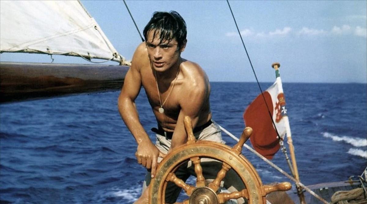 Alain Delon, como Tom Ripley en 'A pleno sol'.