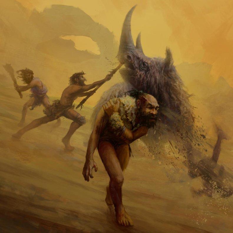 Els neandertals es van basar en tècniques de caça perilloses a curta distància, utilitzant armes sense projectils com les llances d'empenta