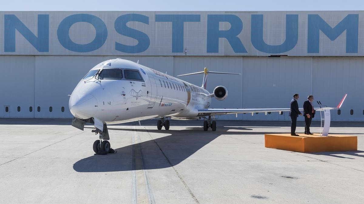 Air Nostrum cancel·la 148 vols a partir d'aquest dilluns per la vaga de pilots