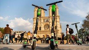 França inclou els patinets elèctrics en el codi de trànsit