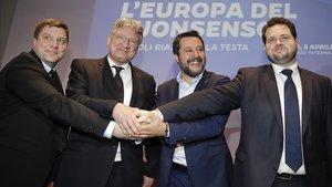 Salvini llança la seva aliança ultra de cara a les eleccions al Parlament Europeu