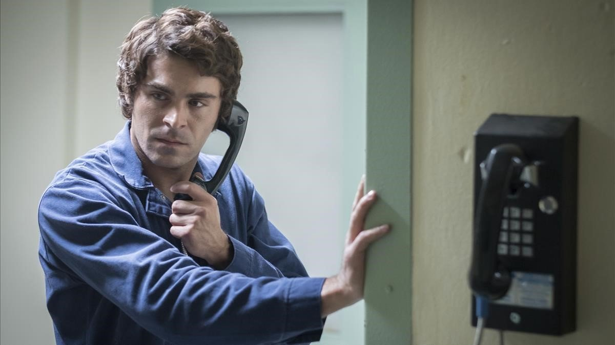 Zac Efron, como Ted Bundy en 'Extremely Wicked, Shockingly Evil, and Vile'.