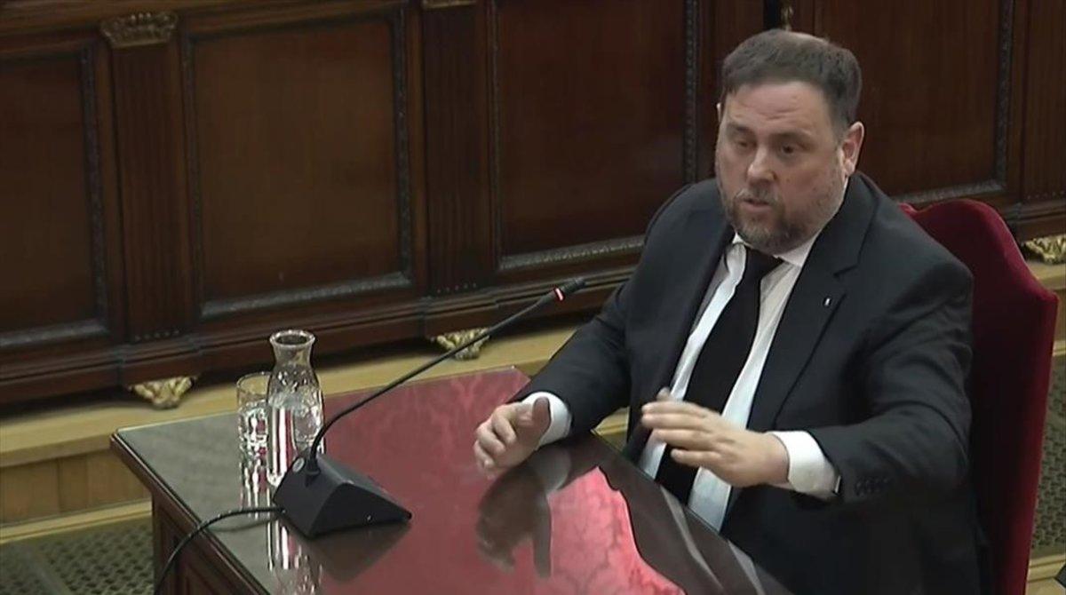 Junqueras, elegit president de l'Aliança Lliure Europea a l'Eurocambra