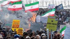L'Iran crida a la «resistència» en el 41 aniversari de la revolució islàmica
