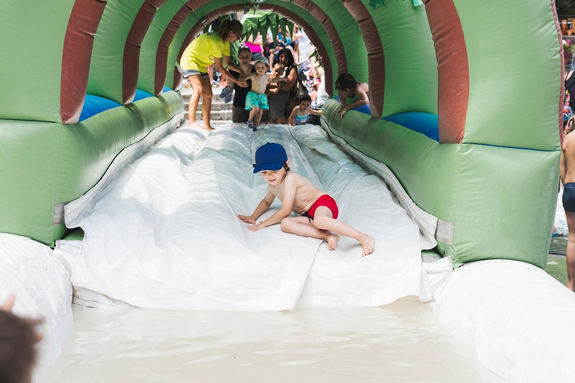 Una imagen de la fiesta acuática del pasado año.