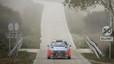 El Hyundai i20 WRC en el tramo de demostración.