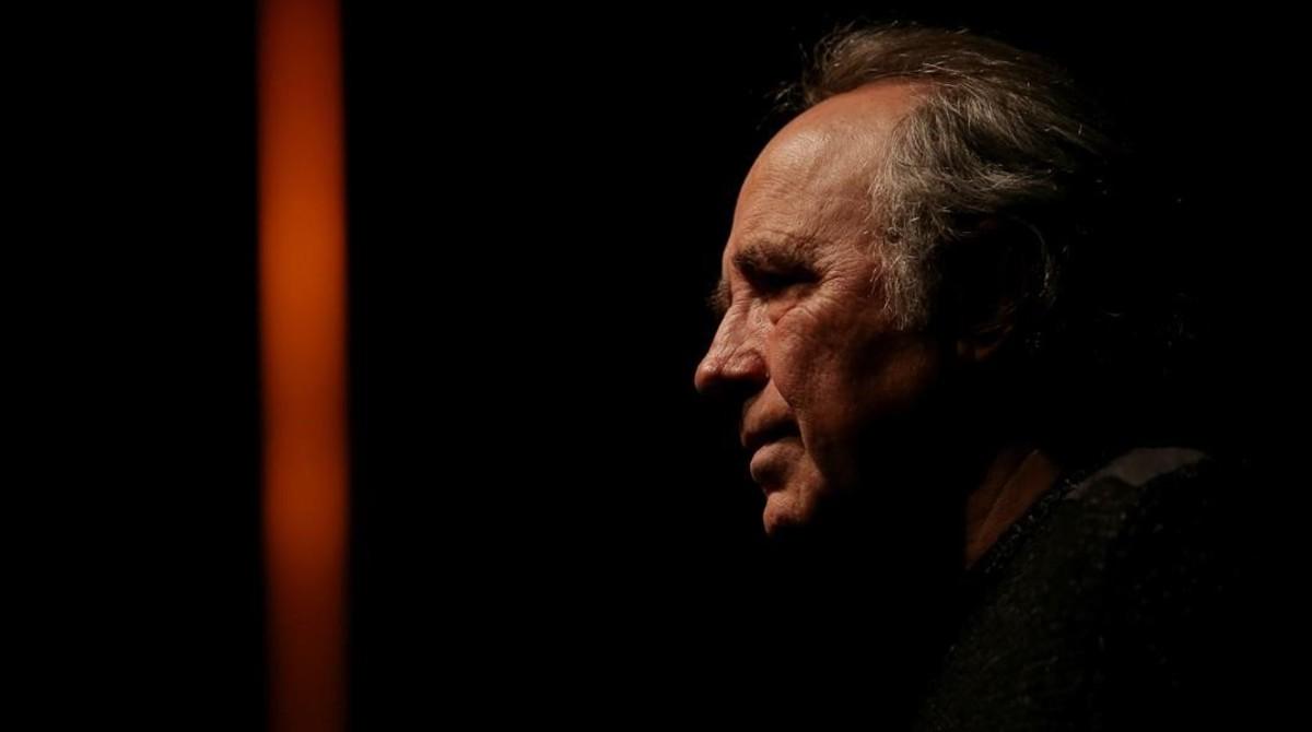 Joan Manuel Serrat, en Madrid, donde ha presentado su gira Mediterráneo da capo