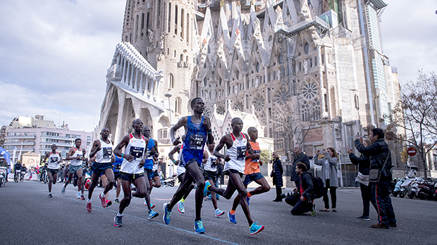 17.000 personas en las calles de Barcelona para correr la maratón de Barcelona