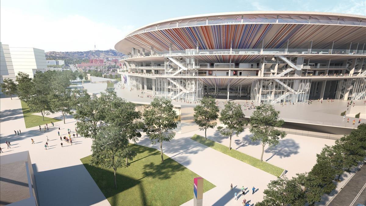 El Barça dispara les expectatives de finançament de l'Espai Barça
