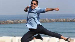 El actor Paco León, en el reciente Festival de San Sebastián.