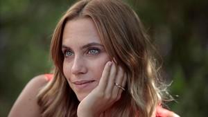 La actriz Aura Garrido, en el Festival de Sitges, en la presentación de la película 'La pell freda', el pasado día 11.